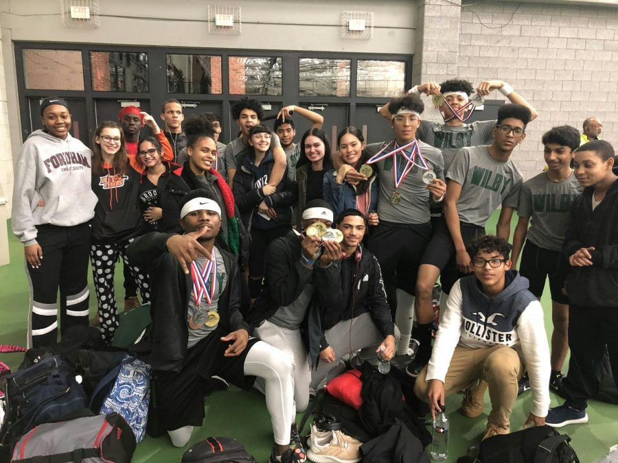 Indoor Track Finishes 4th at NVL Championships