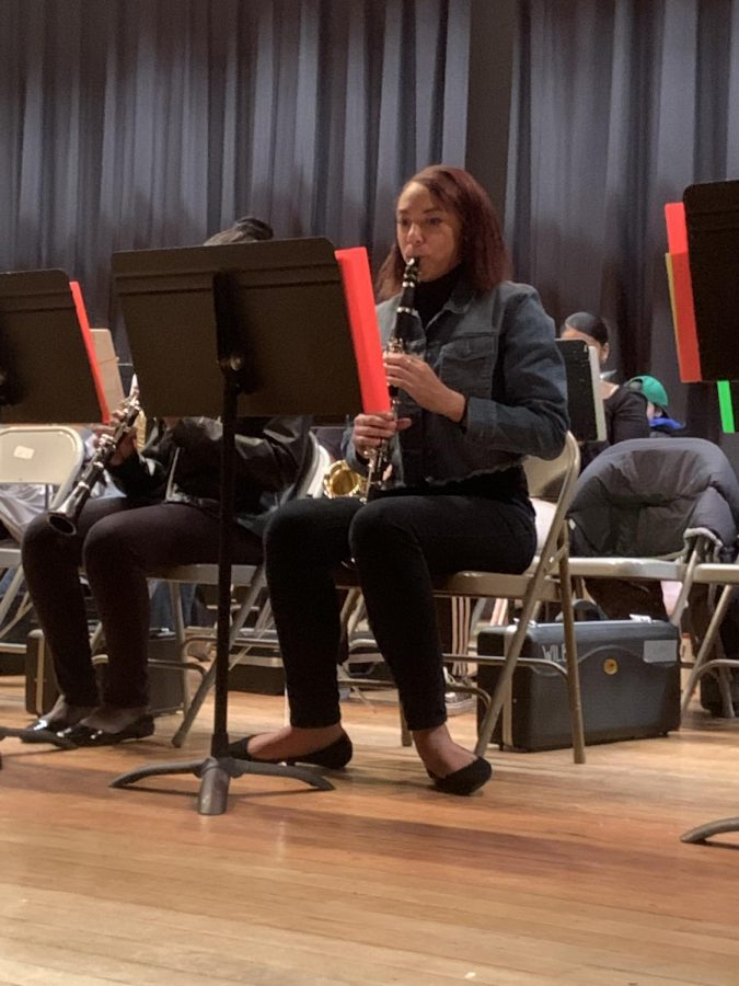 Wilby Band Performs at Winter Concert