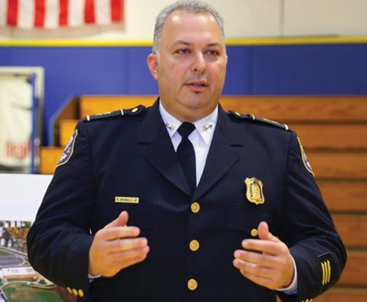 Waterbury Police Superintendent Fernando Spagnolo. Credit: From the Waterbury Police Department website.